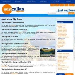 BIG ICONS, BIG AUSTRALIAN ICONS, AUSTRALIAN BIG ICONS, AUSTRALIAN ICONS