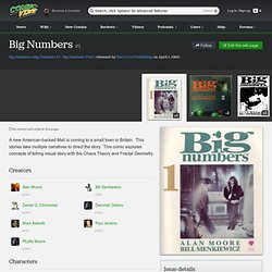 Big Numbers #1 - Big Numbers: Part 1 (Issue)
