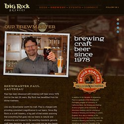 The Big Rock Brewery | Big Rock Beer