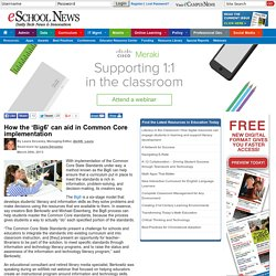 How the 'Big6' can aid in Common Core implementation