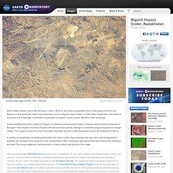 Bigach Impact Crater, Kazakhstan