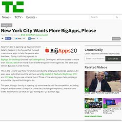New York City Wants More BigApps, Please