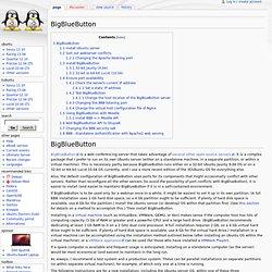 BigBlueButton -