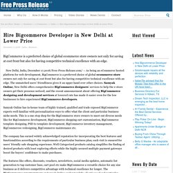 Hire Bigcommerce Developer in New Delhi at Lower Price