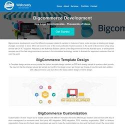 Bigcommerce Web Development Services in Australia