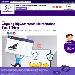 BigCommerce store Maintenance Tips & Tricks - Skynet Technologies USA LLC