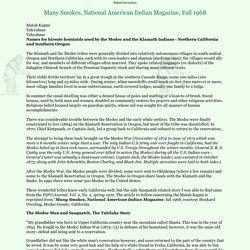 Bigfoot rescued snake bit Indian, a Tulelake Bigfoot story, the Modoc man....