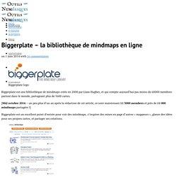 Biggerplate - bibliothèque mindmaps - Outils Numériques