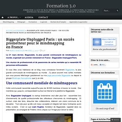 Biggerplate Unplugged Paris : un succès prometteur pour le mindmapping en France
