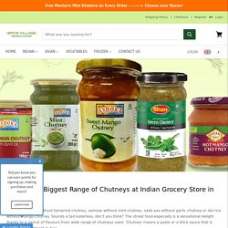 Buy Biggest Range of Chutneys for Online shopping in Germany