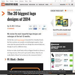 The 20 biggest logo designs of 2014