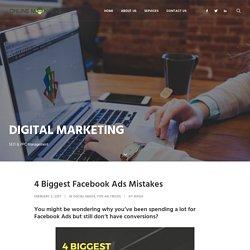 4 Biggest Facebook Ads Mistakes Online Monkeys