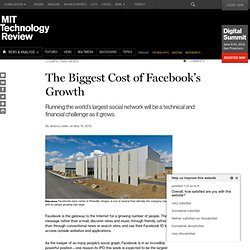 The Biggest Cost of Facebook's Growth