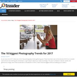 The 10 biggest Photography Trends for 2017