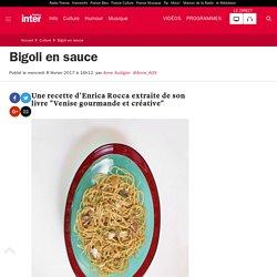 Bigoli en sauce