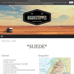 Fiche Infos Suède - Bigousteppes: Voyages en camion aménagé