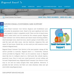 Bigpond Email Customer Care Number 1800-021-482, Toll Free Support
