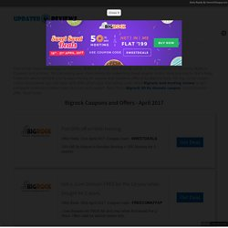 BigRock Coupons & Coupon Codes - Up to 40% OFF Offers April 2017 - UpdatedReviews
