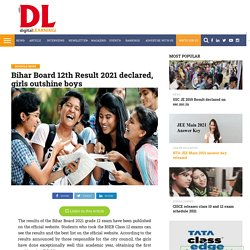 Bihar Board 12th Result 2021 declared, girls outshine boys