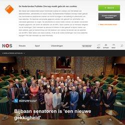 Bijbaan senatoren is 'een nieuwe gekkigheid'