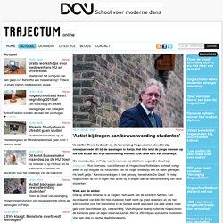 'Actief bijdragen aan bewustwording studenten'