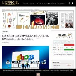 LES CHIFFRES 2019 DE LA BIJOUTERIE JOAILLERIE HORLOGERIE - L'officiel Horlogerie & Bijouterie