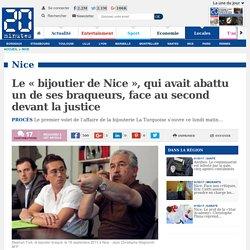 Le «bijoutier de Nice», qui avait abattu un de ses braqueurs, face au second devant la justice
