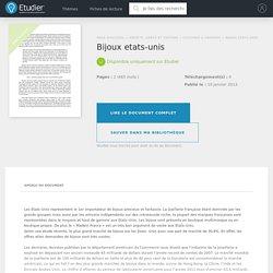 Bijoux etats-unis - Comptes Rendus - Karima75011