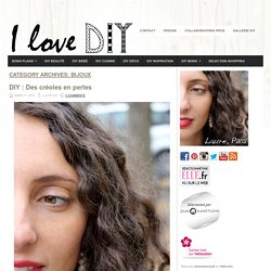 I love DIY blog mode, bon plans et DIY
