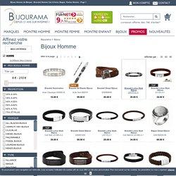 Bijoux Homme de Marque : Bracelet Homme Cuir & Acier, Bague, Chaine Homme - Page 1