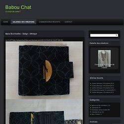 Bijoux fils et textiles – Design – Ethnique