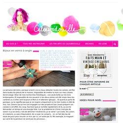 Bijoux en vernis à ongle