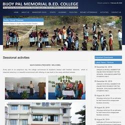 Bijoy Pal Memorial B.Ed. College - Burnpur