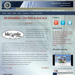 5th Bike4Mike - The Ride to End ALS - Amerland News