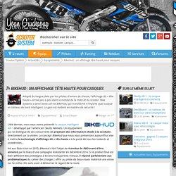 BikeHud : un affichage tête haute pour casques