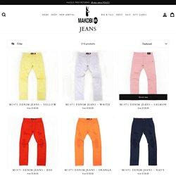Big & Tall Urban Jeans