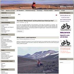 Biking Iceland