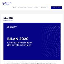 Bilan 2020 – Blockchain Partner