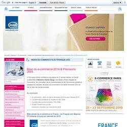 Bilan du e-commerce 2014 & Prévisions 2015
