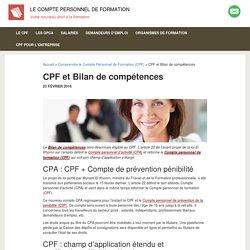 Le Bilan de compétences éligible CPF