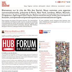 Bilan du #HubForum 2013