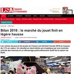 Bilan 2016 : le marché du jouet finit en... - Loisirs, culture