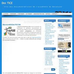 Bilan du MOOCDocTICE EMI