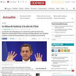 Le bilan de Sarkozy à la tête de l'Etat