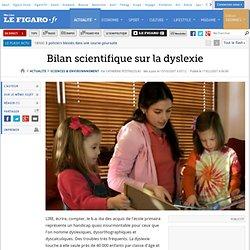 Sciences : Bilan scientifique sur la dyslexie