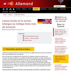 Liaison écoles et la section bilangue au Collège Emile Zola de Suresnes - Allemand