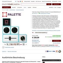Palette Gear Starter Kit Modulares Steuerpult für Computer-Bildbearbeitung mit Lightroom CC/6, Photoshop CC etc. kaufen im Enjoyyourcamera.com Shop