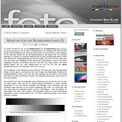 Monitor für die Bildbearbeitung (3) - Fotograf Maik Blume