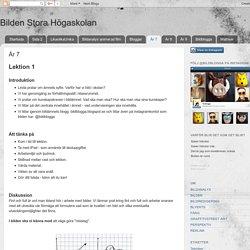 Bilden Stora Högaskolan: År 7