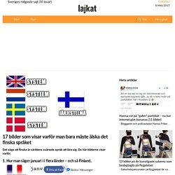 17 bilder som visar varför man bara måste älska det finska språket